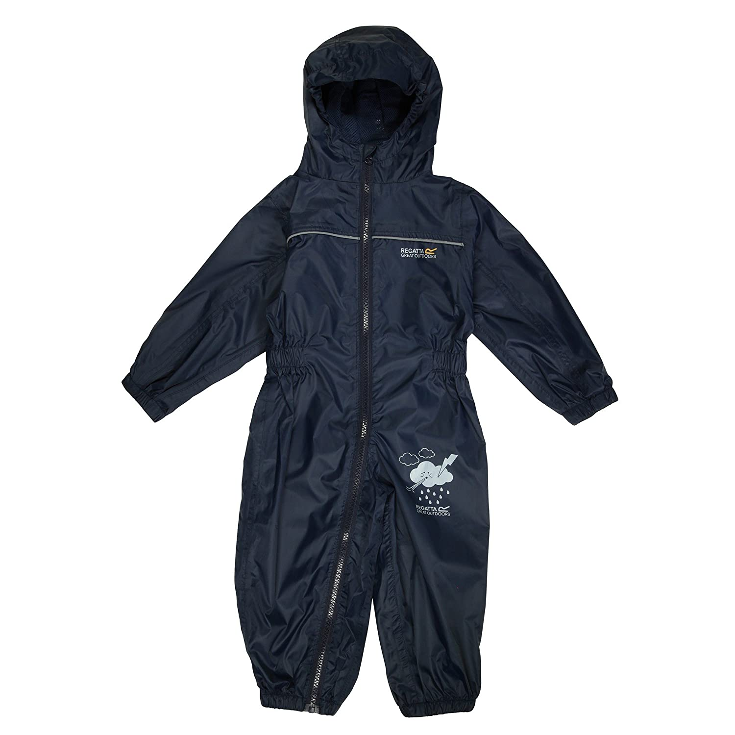 Regatta All in One Puddle IV Suit 12-18m Navy