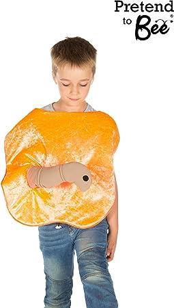 Kids - Disfraz de naranja para niña, talla 3-5 años (9646 ...