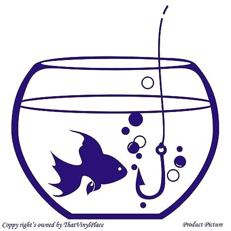 Peces, peces, de banco de peces, para acuarios, acuarios, gancho, ganchos, de pesca (19 cm x ...