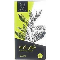 اشتري اونلاين بأفضل الاسعار بالسعودية - سوق الان امازون السعودية:جاردين تي  شاي كرك بالهيل - ١٠ اكياس