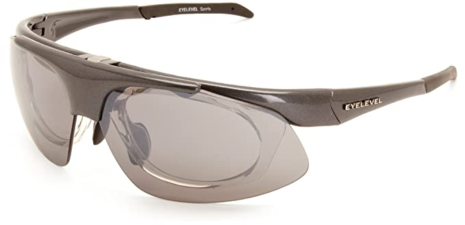 392bd289d01 Eyelevel Interactive Shooting Wrap Men s Sunglasses Grey One Size ...