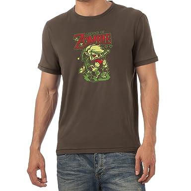 TEXLAB - Legend of Zombie - Herren T-Shirt, Größe S, braun