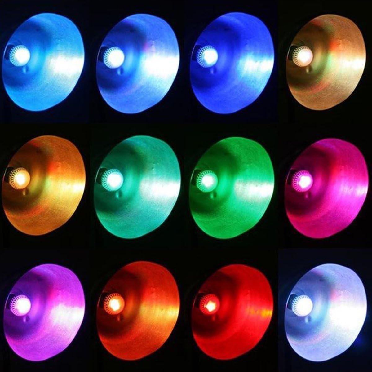 Remote Control Top Race/® 9W E27 LED RGB Light Colorful Bulb Lamp