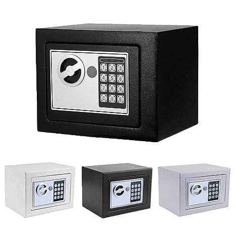 Amazon.com: Caja de seguridad ignífuga con cerradura digital ...