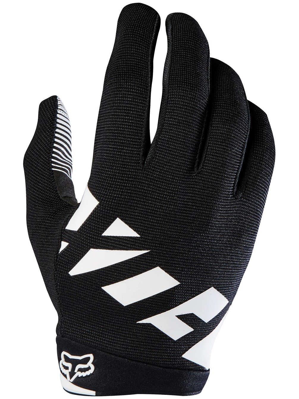 Fox Racing Ranger Bike Gloves Large Black Grey White Fox Head 18747-424