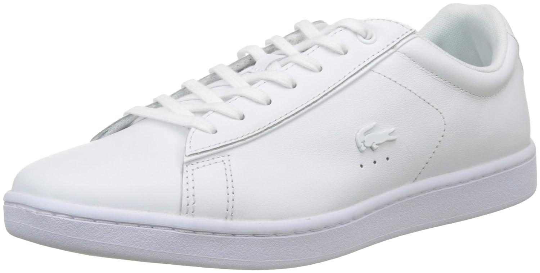 Lacoste Carnaby Evo 417 1 SPW, Zapatillas para Mujer 37 EU Blanco (Wht)