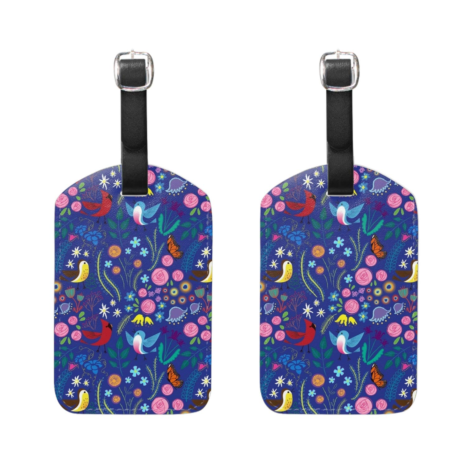 Sunflower Pack Baggage Suitcase Luggage Tags Travel Accessories Set of 2