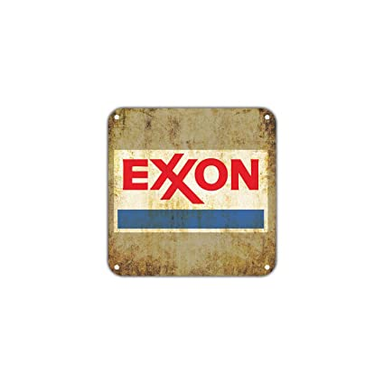 Amazon com: Exxon Gas Station Oil Petroleum Gasoline Vintage