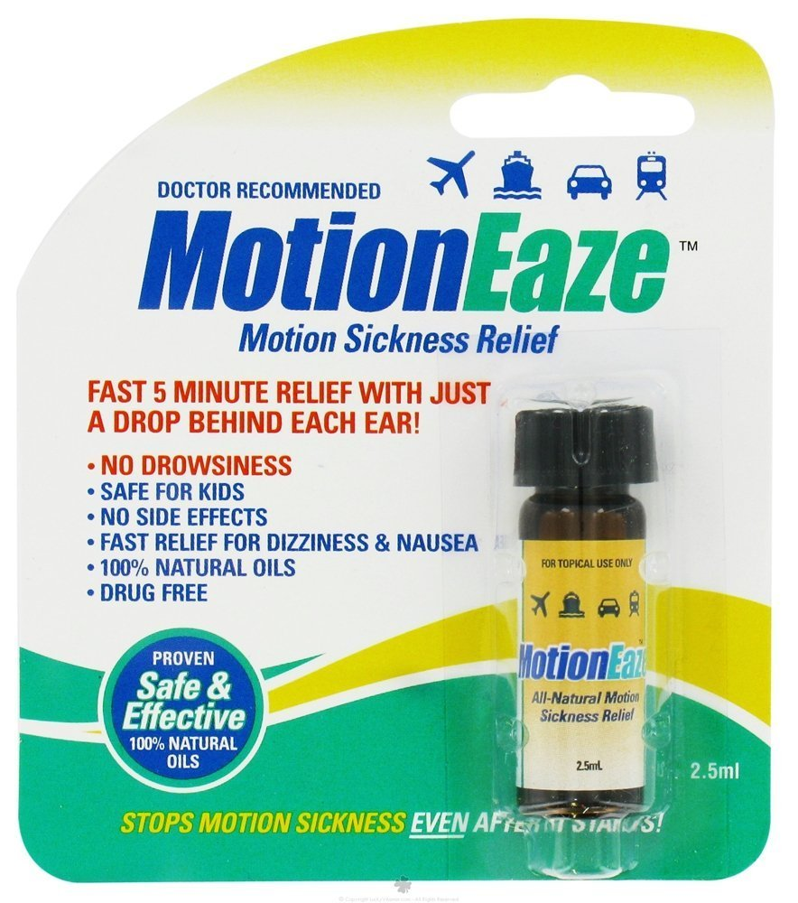 Motioneaze Motion Sickness Relief Liquid - 2.5 Ml, 2 Pack