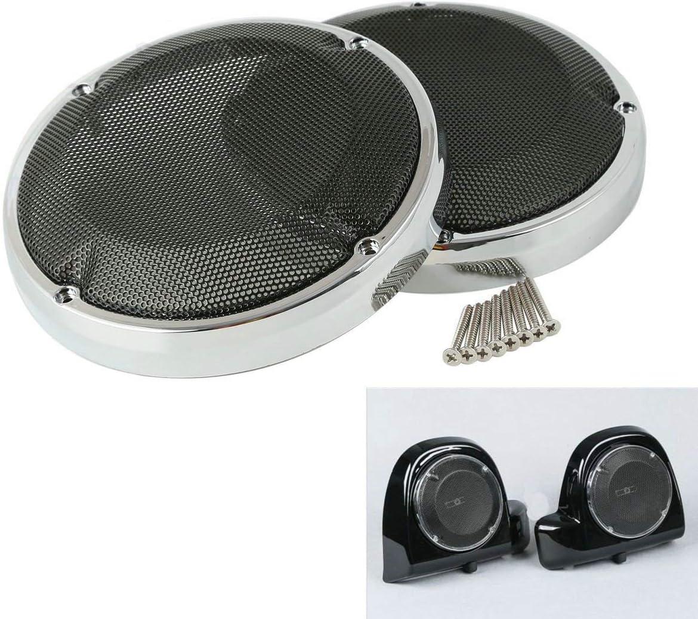 """6.5/"""" Speaker Saddlebag Lid fitFor Harley Touring Electra Road Street Glide 14-18"""