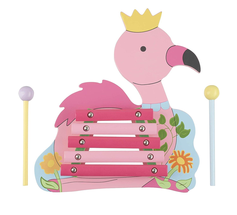 Orange Tree Toys Flamingo Wooden Xylophone,