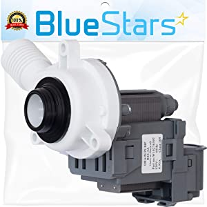 Ultra Durable W10276397 Washer Drain Pump Replacement Part by Blue Stars – Exact Fit For Whirlpool & Kenmore Washers – Replaces LP397 AP6018417 WPW10276397VP
