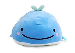 Vintoys Very Soft Blue Whale Shark Hugging Pillow Plush Doll Fish Plush Toy Stuffed Animals 17""