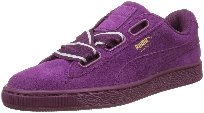 online store 1dd74 231ba Puma Women's Suede Heart Satin Ii Trainers
