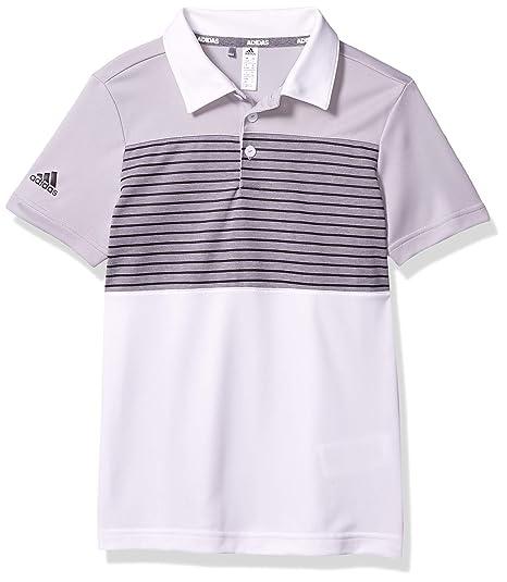 adidas Golf - Polo de Golf con diseño de Rayas - TB1233S20 ...