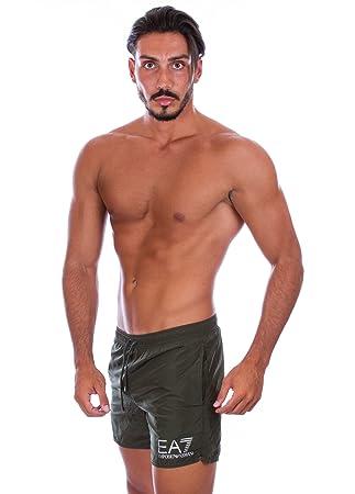 4068465e7c Emporio Armani EA7 Men's 902000-6P732 5-inch Swimming Shorts: Amazon ...