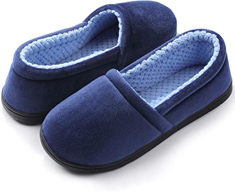 Women Lady Anti-slip Slippers Lightweight Non-Slip Comfort Cotton House Slippers