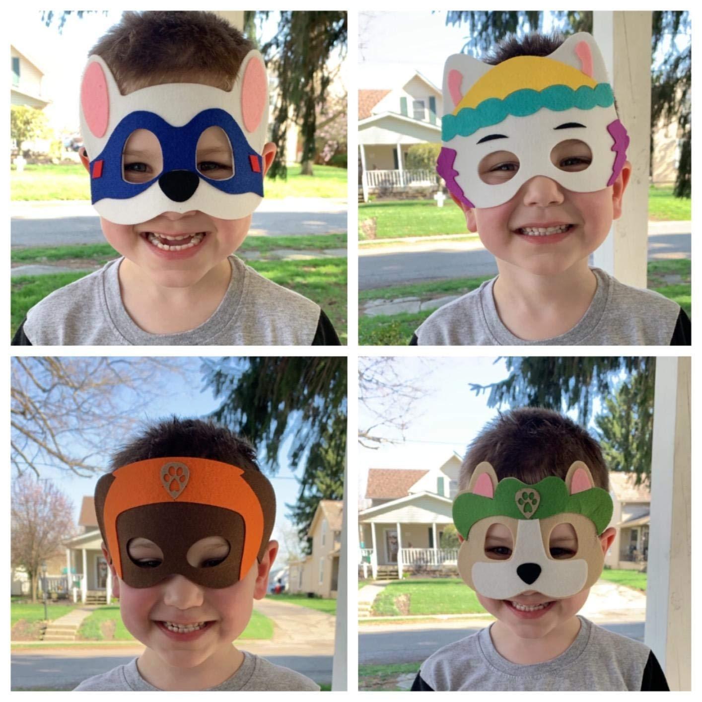 Amazon.com: Máscaras de fiesta de cumpleaños para cachorros ...