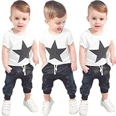 9c265c32c9c2 Amazon.com  Boys Outfit Clothes 2-6 Years Old