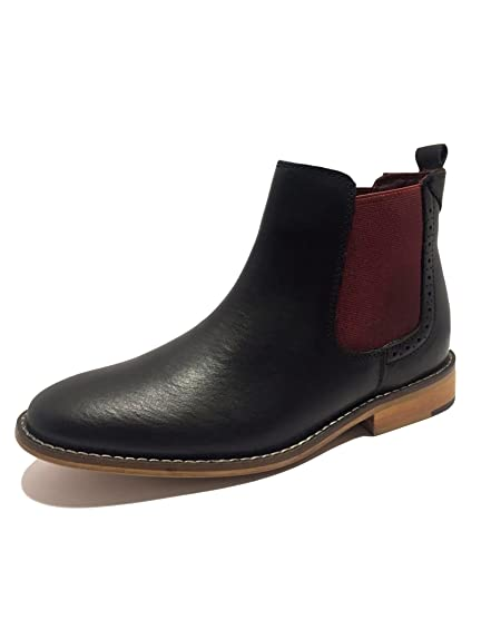 91319cca87e62 London Brogues Gatsby Ladies Womens Chelsea Boot Slip Pull On Ankle Boots  Real Leather Shoes Footwear Size 3 4 5 6 7 8 (UK 3, Black): Amazon.co.uk:  Shoes & ...