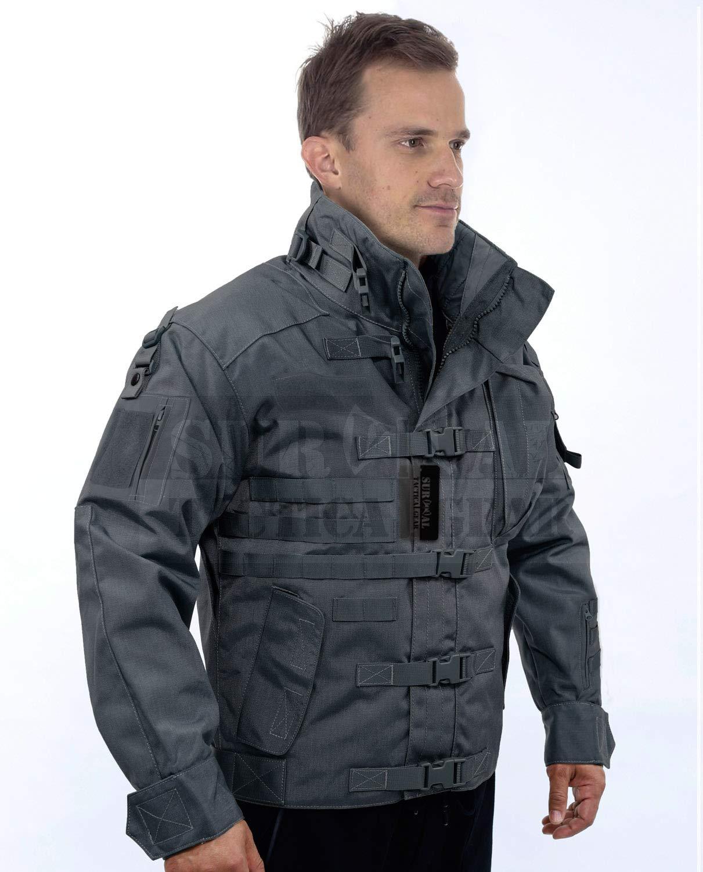 ZAPT 1000D CORDURA US Army Tactical Jacket Military Waterproof Windproof Hard Shell Jackets