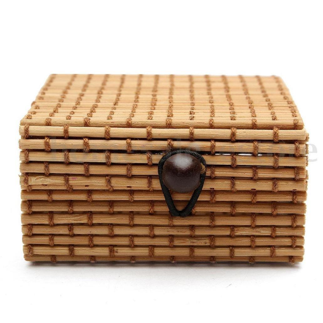 Caja de Almacenamiento bambú