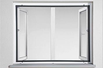 Häufig Powerfix Profi+ Alu Insektenschutz Fenster Fliegengitter SLIM 100 WD87