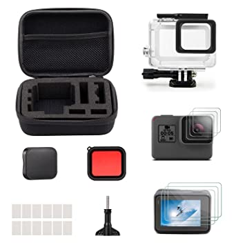 Amazon.com: itrunk 23 en 1 GoPro Hero 5 Kit de accesorios ...