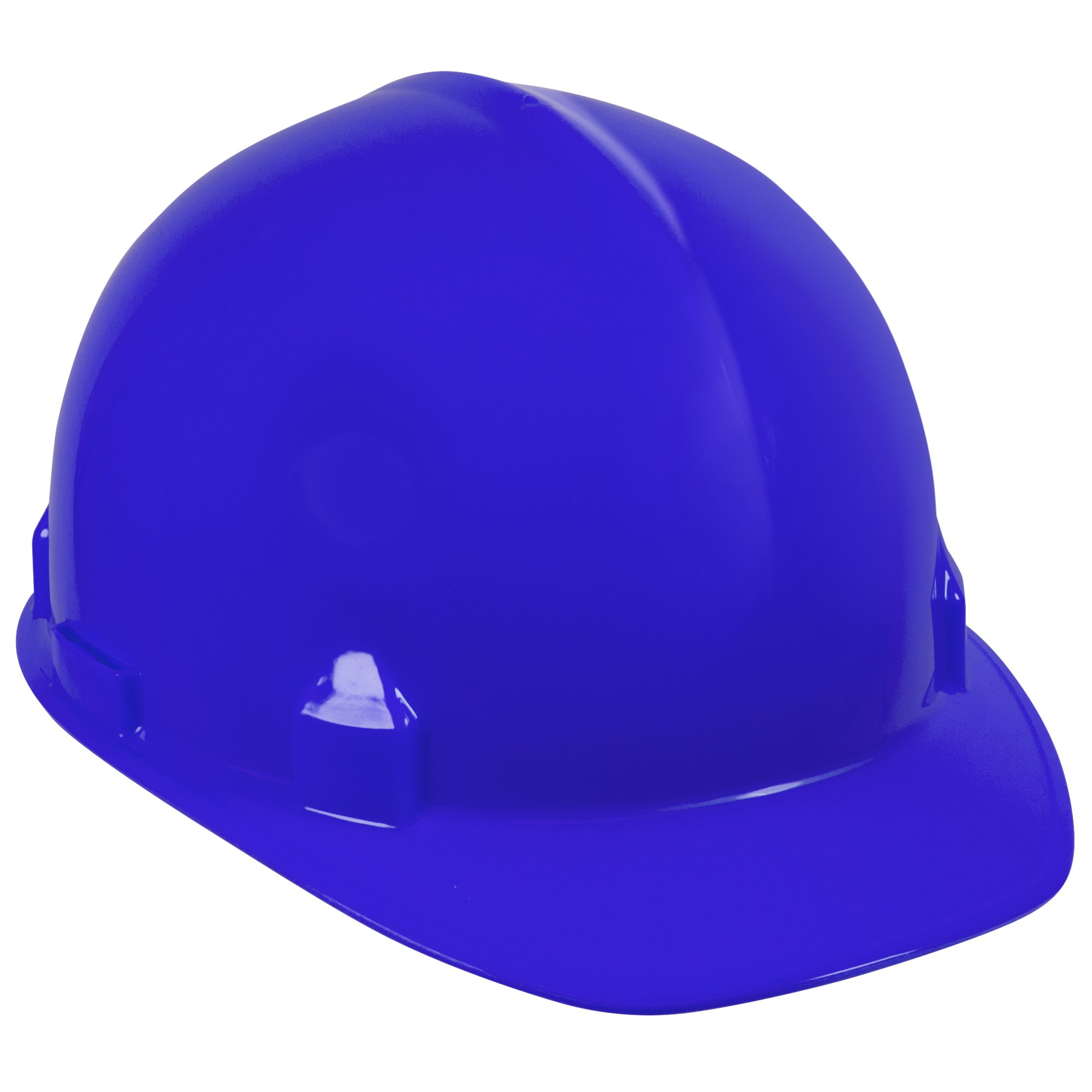 Jackson Safety SC-6 Hard Hat (14838), 4-Point Ratchet Suspension, Smooth Dome, Meets ANSI, Blue, 12 / Case