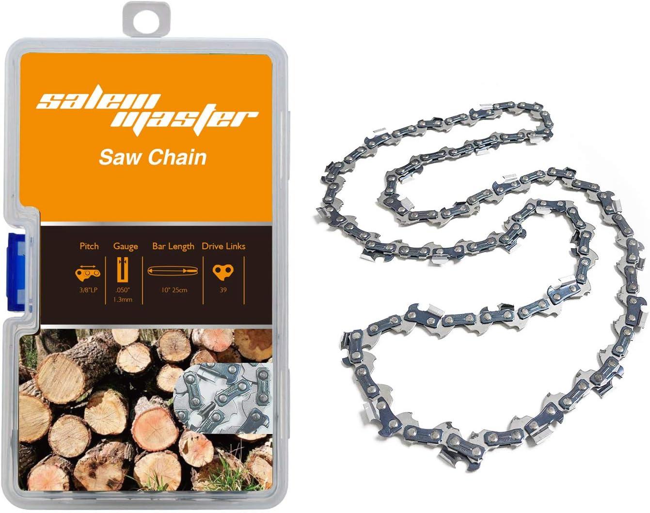 Tallox 3 10 pulgadas cadenas de motosierra 3//8 LP .043 pulgadas 40 eslabones