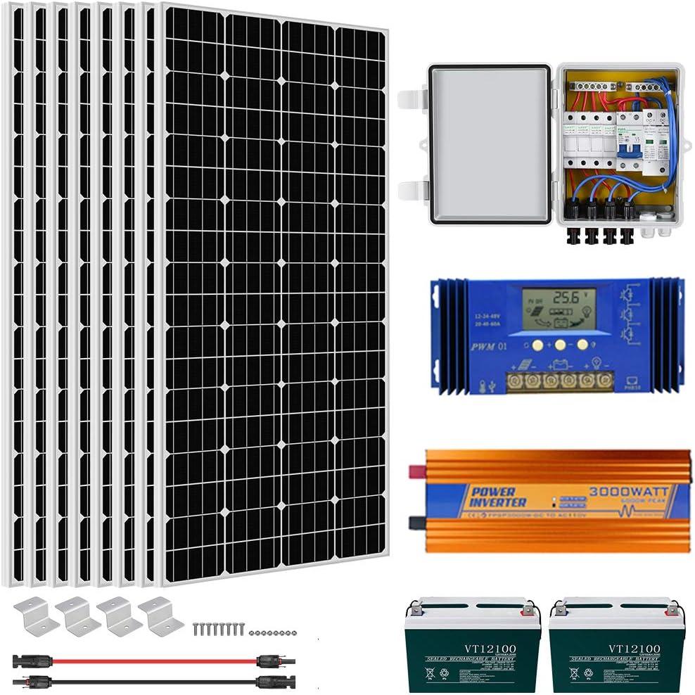 ECO-WORTHY 1500 Watt Off Grid Solar System