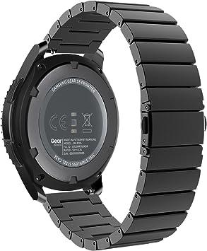 MoKo Gear S3 Watch Correa - Reemplazo de Acero Inoxidable Pulsera ...