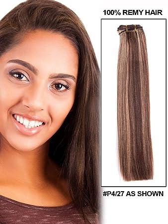 Amazon fohair human hair weave color 427 100 indian remy fohair human hair weave color 427 100 indian remy wefts hair extensions 24 pmusecretfo Choice Image