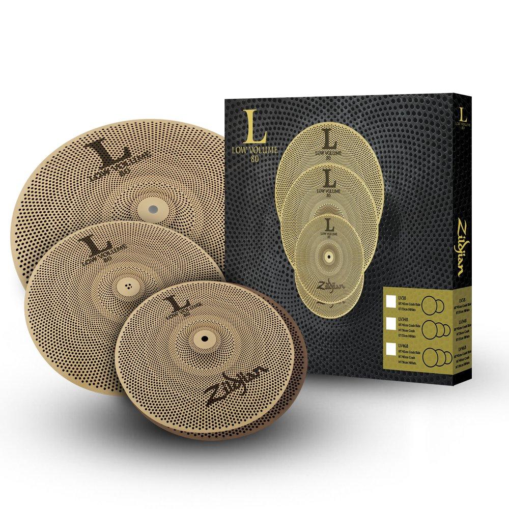 Zildjian L80 Low Volume 13/14/18 Cymbal Set by Avedis Zildjian Company
