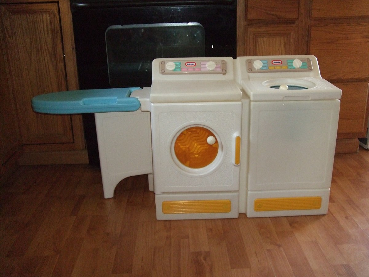 amazoncom little tikes laundry center washer u0026 dryer vintage other products everything else