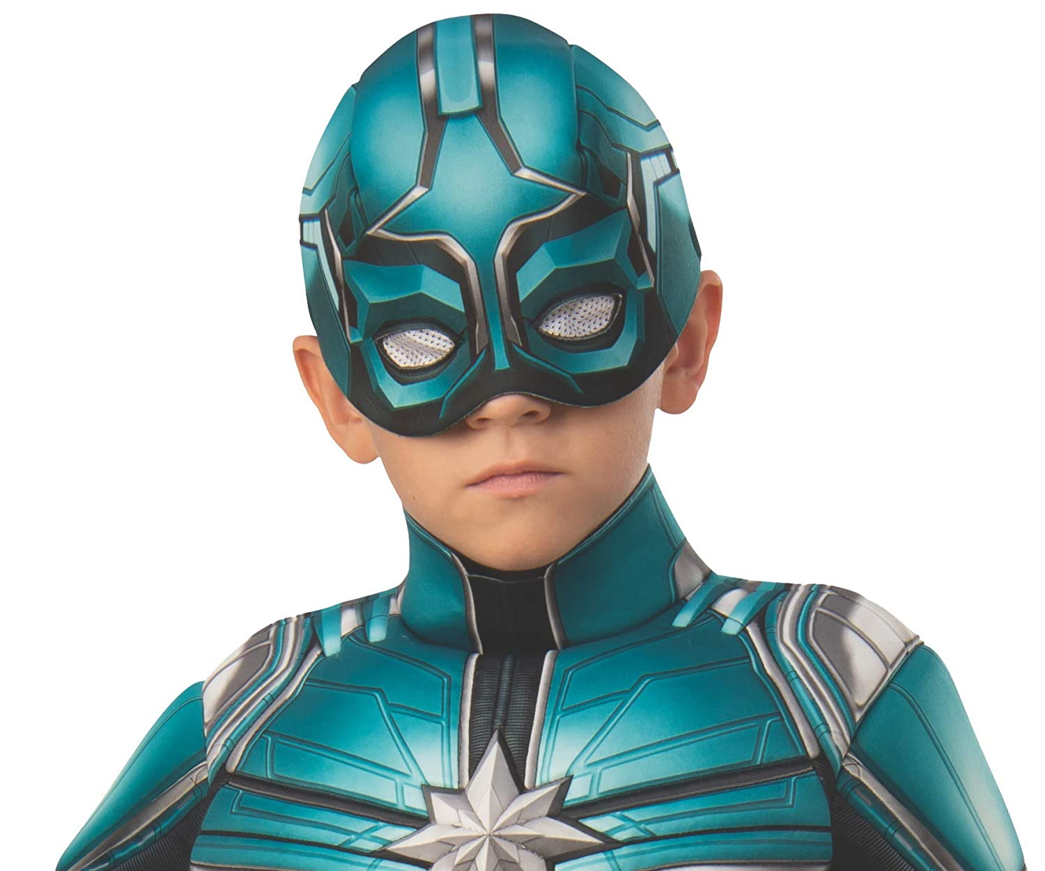 Rubies Captain Marvel Childs Deluxe Yon Rogg Costume Small Rubie/'s 700599/_S