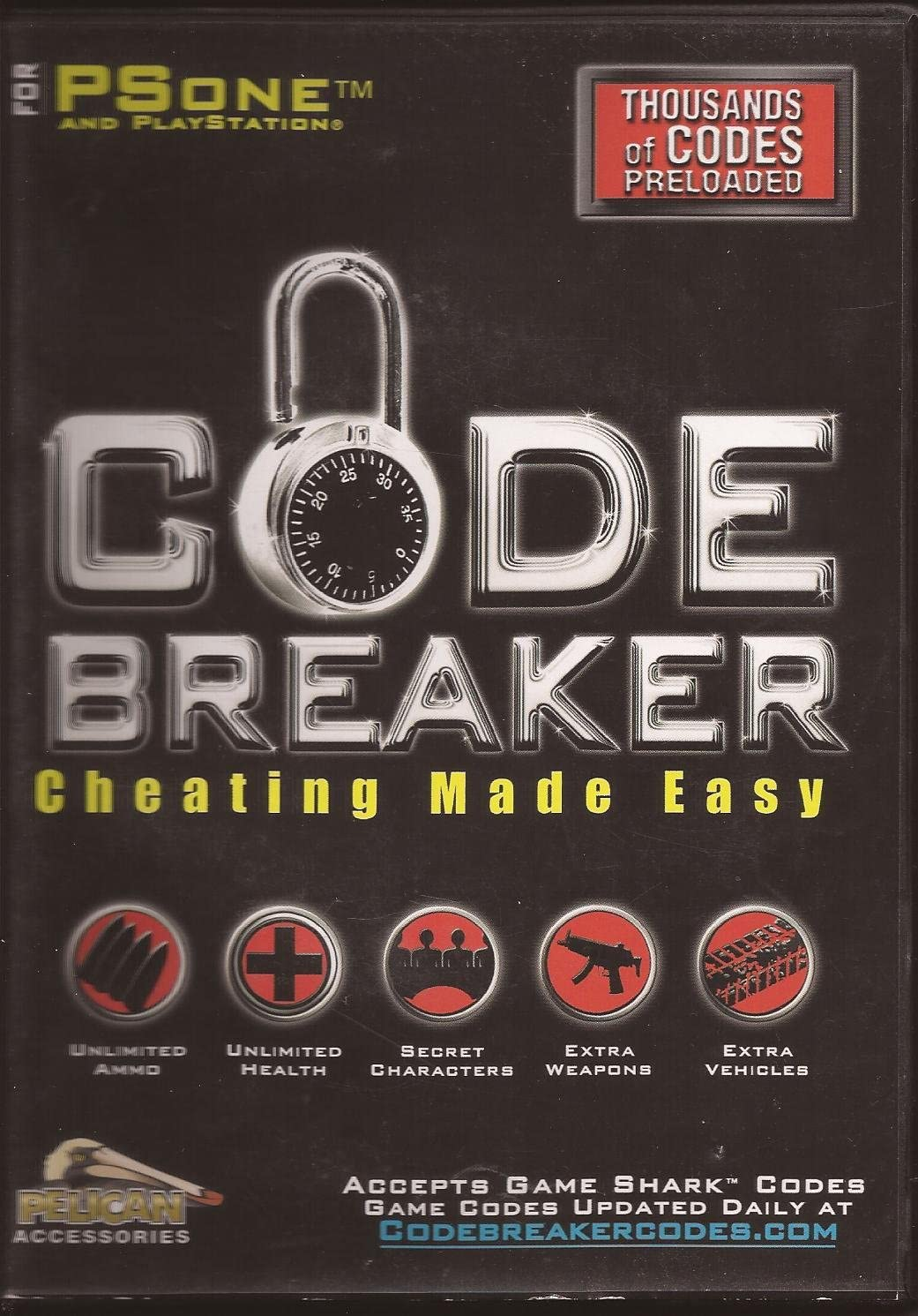 Amazon com: Code Breaker for Sony Playstation (PSone): Video