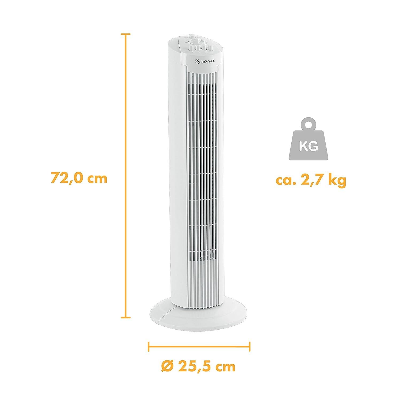 Die Größe des Turmventilator von Tevance