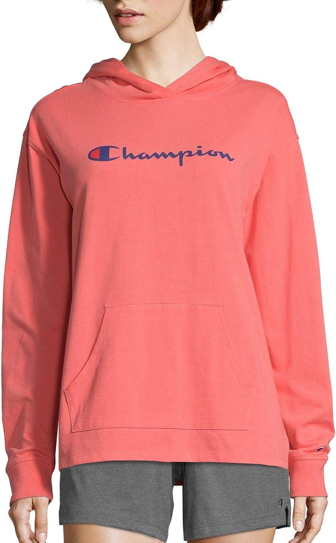 Champion Womens Middleweight Hoodie Hooded Sweatshirt