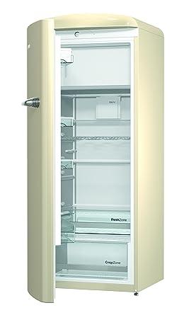 Kühlschrank retro gorenje  Gorenje ORB 153 C-L Kühlschrank mit Gefrierfach / A+++ / Höhe 154 cm ...