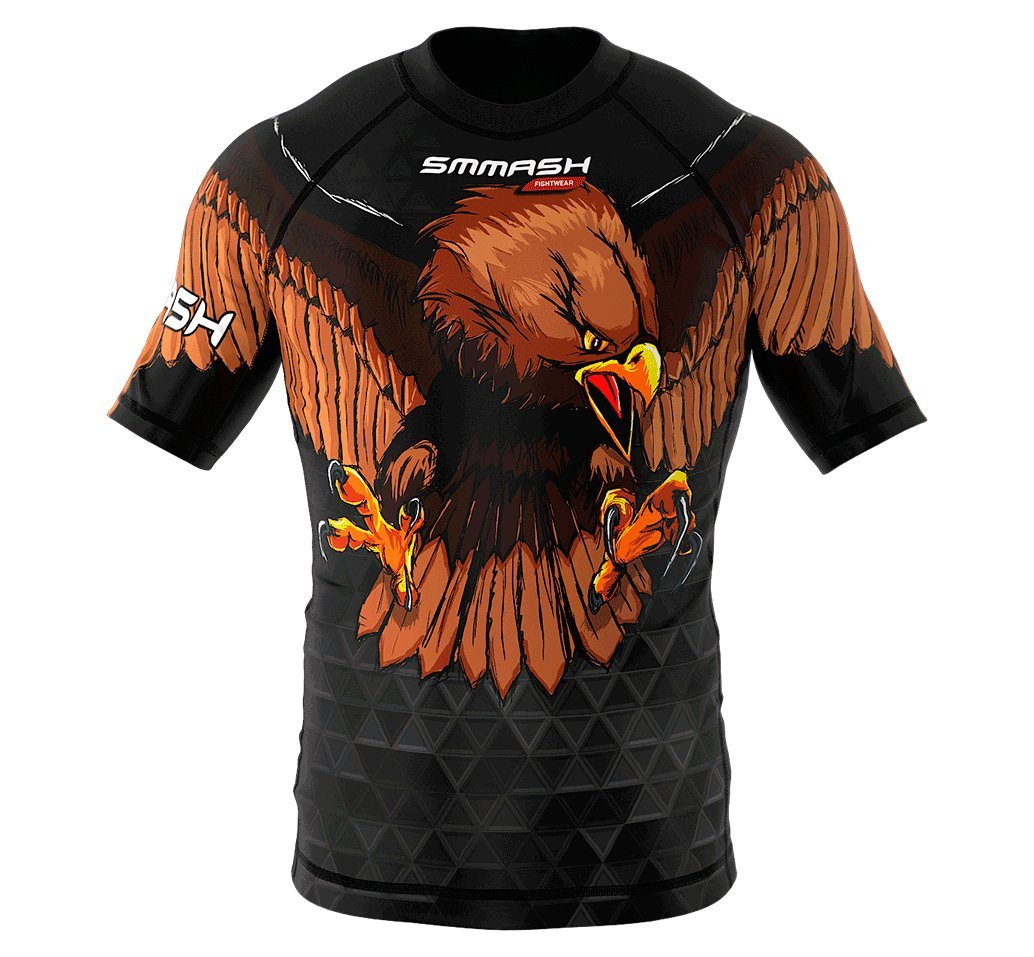 Image of SMMASH Short Sleeve Rashguard GERMANY
