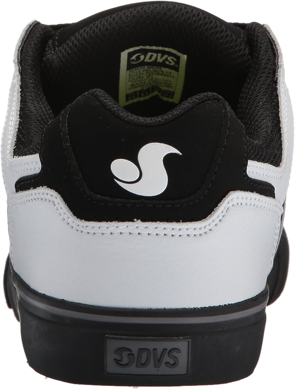 DVS Men's Celsius CT Skateboarding Shoe Black Charcoal Red Nubuck Deegan