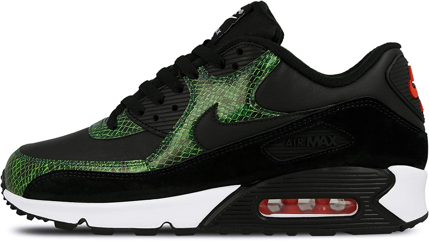CD0916-001 Nike Air Max 90 Green Python Black Cyber-Fir