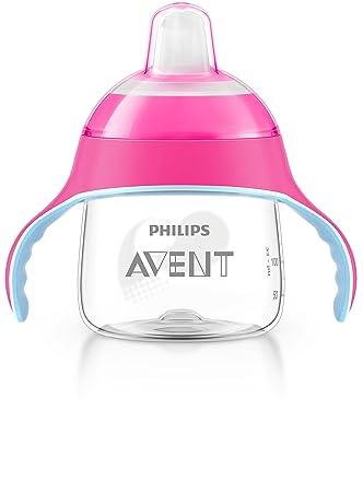 Philips Avent Trinkschnabel Ros Sip Drip Pink Schnabelbecher Trinklernbecher Bab
