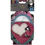 Simply Gorjuss Die-Cut Notelets, Pack of 18, Multi-Colour