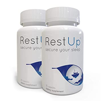 RestUp: Premium Non-Habit Forming Sleep Aid - Sleep Deeply and Wake Up Energized