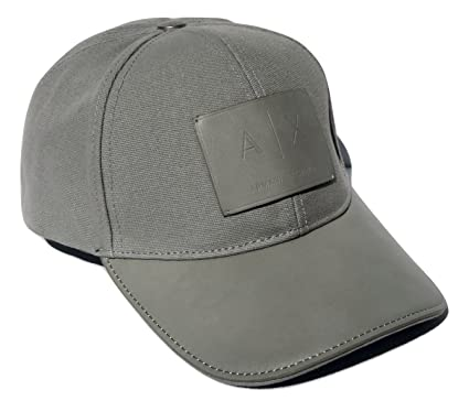 a72c9d3c21e Image Unavailable. Image not available for. Color  Armani Exchange AIX Logo  Patch Trucker Full Back Hat Cap in Allow Grey