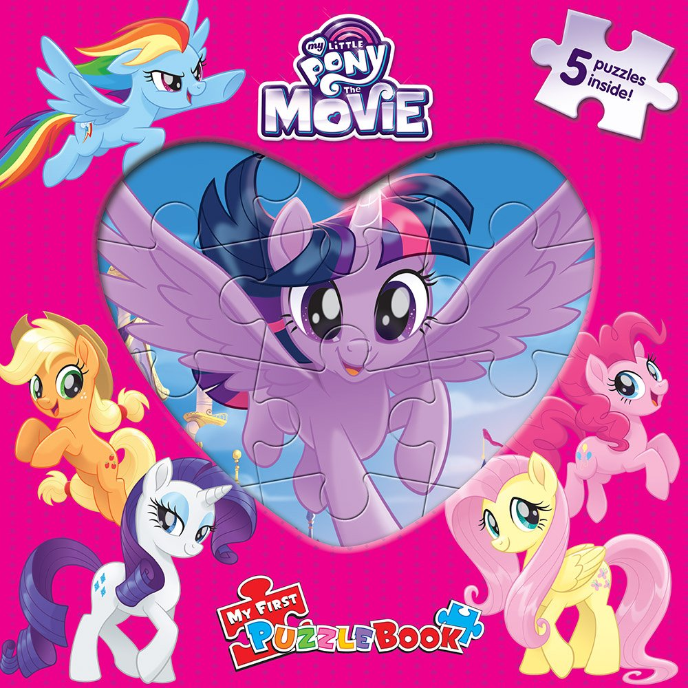 Download My Little Pony The Movie My First Puzzle Book pdf