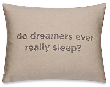 Kenneth Cole Mineral Dreamers Oblong Throw Pillow in Oatmeal - BedBathandBeyon​d.com