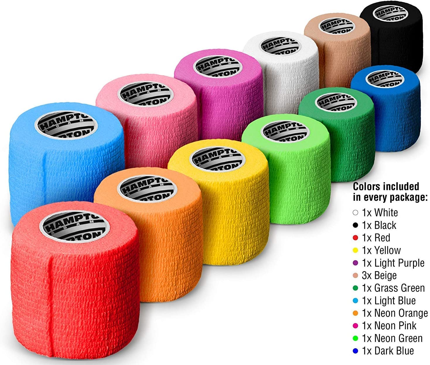 """(14-Pack) 2"""" x 15 FT 